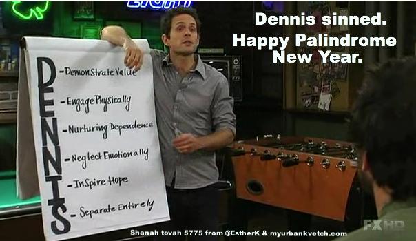 Dennis-palindrome