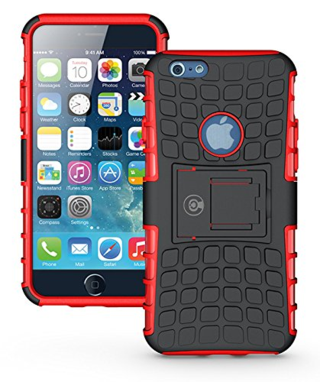 Iphone armorbox red