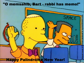 Simpsons-palindrome